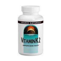 Витамин К 2, Source Naturals,  100 мкг, 60 таблеток