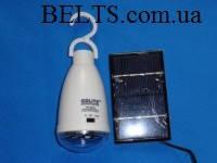 Аккумуляторная лампа с пультом и солнечной батареей GDLITE GD-5007s (Жиди лайт)