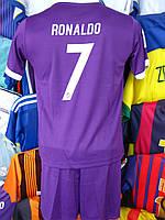 Футбольная форма Реал  Мадрид Рональдо для детей