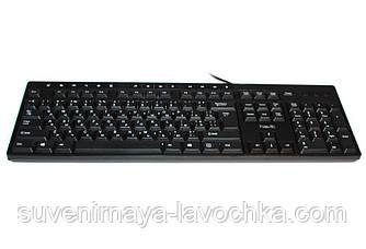 Клавиатура HV-KB373, USB, черная.