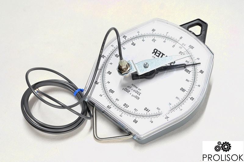 Весы 100 кг с датчиком 24 В постоянного тока