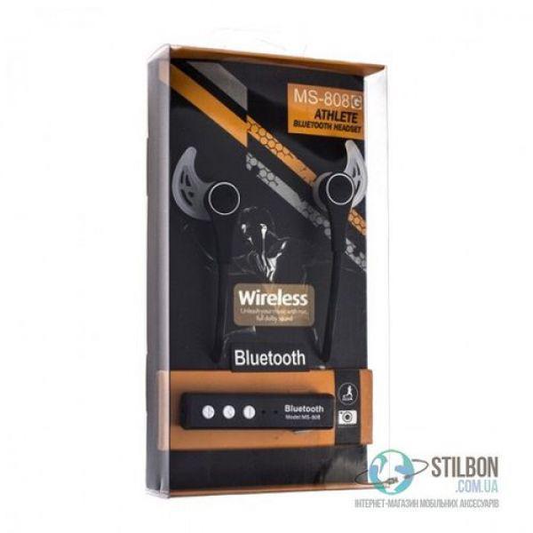 Bluetooth наушники MS-808G Athlete (наушники + Bluetooth ресивер)