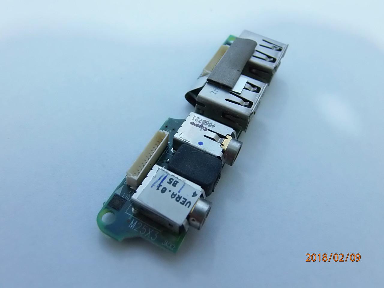 Аудио панель с USB портами для ноутбука HP Compaq Nx8220