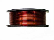 Обмоточный эмальпровод алюминиевый диаметром 0,63 мм, весом 0,25 кг