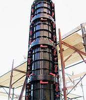 Круглая колонна из ABS пластика, Geoplast, Италия, H=3,0 м., сеч. 300 мм., 60 кН, фото 1
