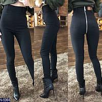 Женские стильные штаны с молнией  новинка