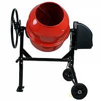 Бетономешалка FORTE EW6140P (650 Вт, обьём барабана 140 л, готовая смесь 110 л) + доставка