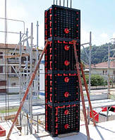 Пластиковая опалубка колонны из АБС, сечение 400 мм., высота 3,0 м., нагрузка 6 тонн на кв.м.