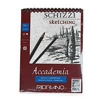 "Альбом для графики А5 50л на спир. 120г/м2 мелкое зерно ""Accademia"", Fabriano"