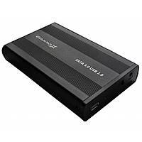 "Внешний карман 3.5"" Grand-X, HDL-21 USB 2.0 + БП 12V 2A"