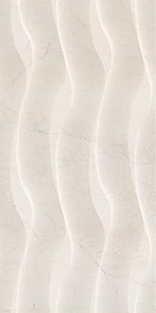 Плитка Голден Тайл Крема Марфил Фьюжн беж рельеф 300*600 Golden Tile Crema Marfil Fusion плитка стеновая