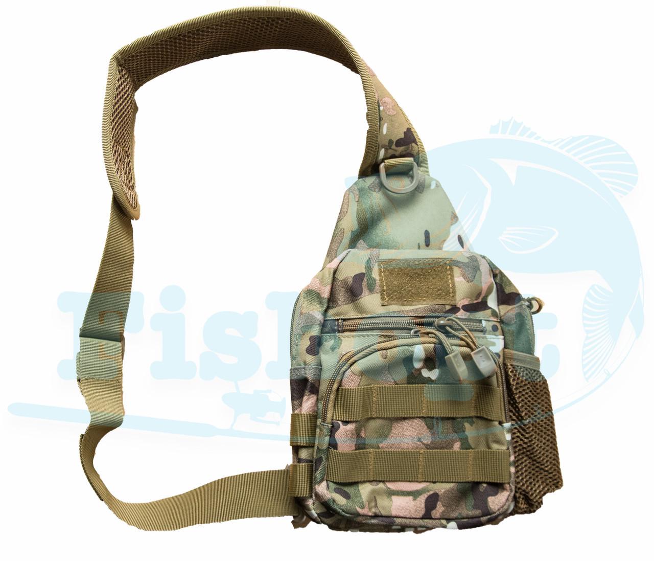 Сумка - рюкзак через плечо на змейке Feima