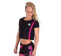 Футболка женская Columbia Crop Top Black/Pink