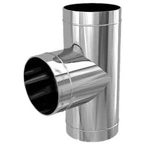 Трійник 90° нержавіюча сталь AISI 304, фото 2
