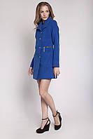 Демисезонное женское кашемировое пальто V-g Сабина синий (электрик) электрик, 42