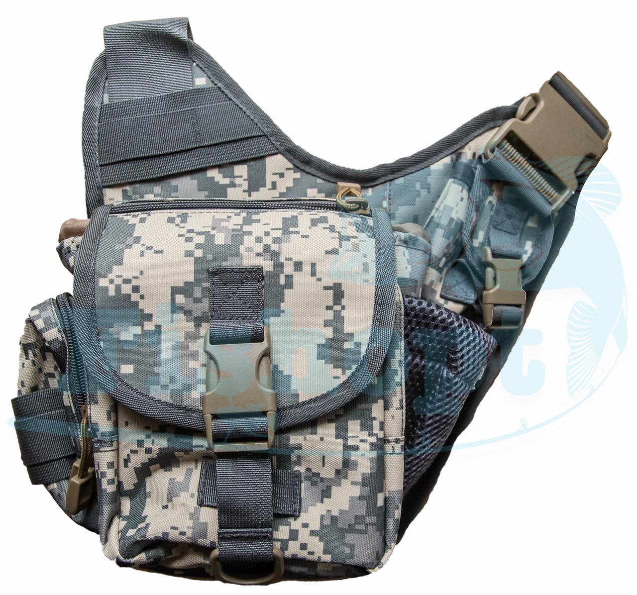 Сумка - рюкзак через плечо на защелке Feima