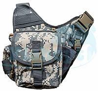 Сумка - рюкзак через плечо на защелке Feima, фото 1