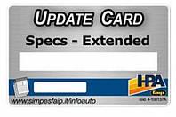 Обновление базы данных для стендов С800-С880 HPA