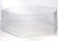 Вольер малый цинк 6 секций 70х50 см 6. 35 кг