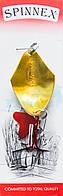 Блесна Spinnex Keta 14g (gold\silver)