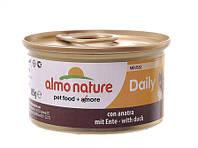 Альмо Натурэ консерва для кошек Мусс с уткой  85 г