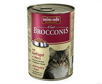 Анимонда Броконис консерва для котов Птица и сердце  400 г