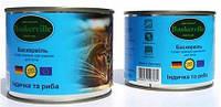 Баскервиль консервы для кошек Индейка и рыба  200 г