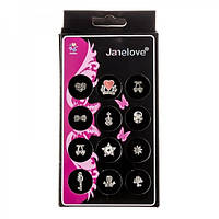 Украшение для ногтей Janelove №3, 12шт, фото 1