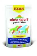 Альмо Натурэ консерва для собак Тунец и морковка в желе  70 г
