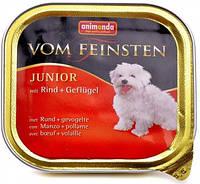 Анимонда Вом Фенштейн консерва для щенков Говядина и птица  150 г