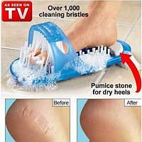 Массажные тапочки для душа с пемзой Easy Feet