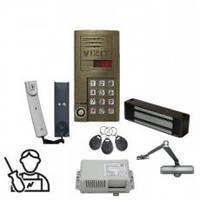 Многоквартирный подъездный домофон (комплект), ремонт, установка, обслуживание Vizit, Eltis
