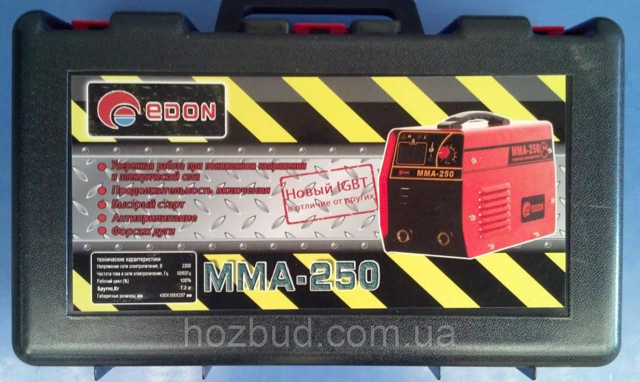 Инверторный сварочный аппарат EDON MMA-250