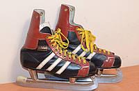 коньки мужские adidas  б/у из Германии