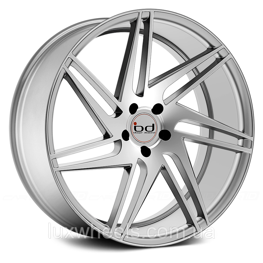 BLAQUE DIAMOND BD-1 Silver with Polished Face