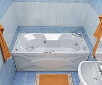 Гидромассажная ванна с врезным смесителем Triton Валери, 1700х850х645 мм