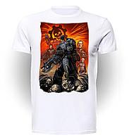 Футболка GeekLand Шестерёнки Войны Gears of War Gears Of War artwork GW.01.005