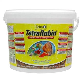 Тетра Рубин хлопья 10л  2. 5 кг - ZOO Корма- разумная цена в Киеве