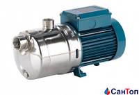 Самовсасывающий насос для воды Calpeda MXHM 804 (1.5 кВт, напор max 48 м) моноблочный, горизонтальный, многоступенчатый однофазный