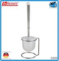 Ерш Besser 0509 для туалета с подставкой 10*13.5*35.5см