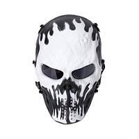 "Защитная маска для пейнтбола ""Black and White"", фото 1"