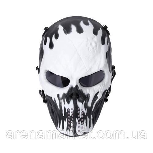 """Защитная маска для пейнтбола """"Black and White"""""""