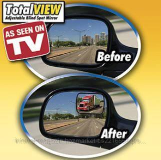 """Автомобильные панорамные зеркала Total View - Интернет-магазин """"Hozmarket.od.ua"""" в Одессе"""