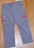 Вельветовые штанишки для мальчика р.80