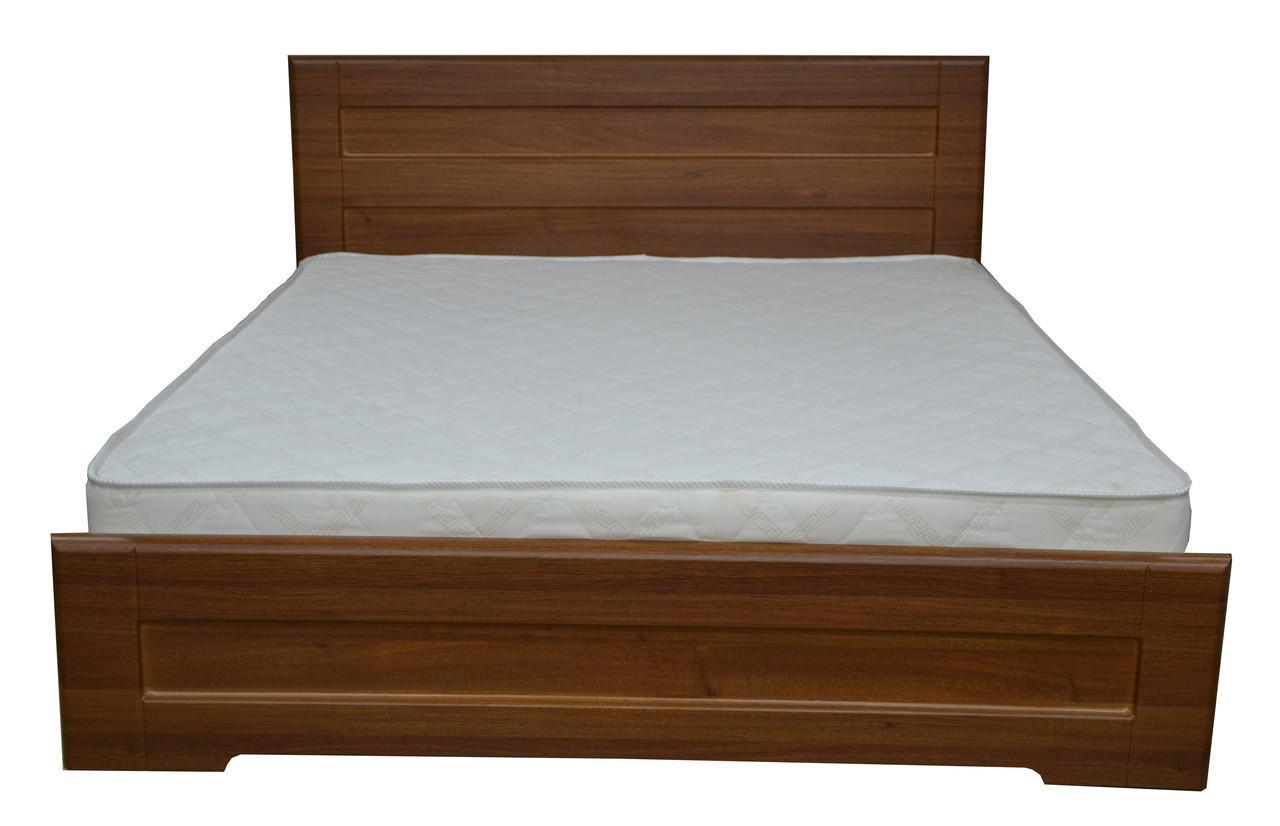 Ліжко Кармен 1,8 м горіх світлий