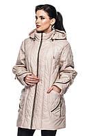 Женская демисезонная куртка -батал