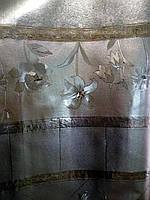Клеёнка Shine (золото/серебро) ширина 140, фото 1