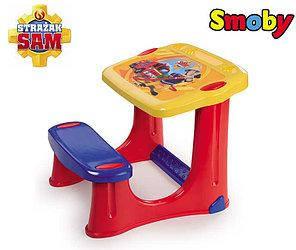 Детская парта со скамейкой Пожарный Сэм Smoby 420205, фото 2