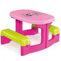 Детский столик-парта с лавочками Minnie Smoby 310291