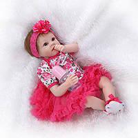 Кукла реборн 55 см девочка Наташа